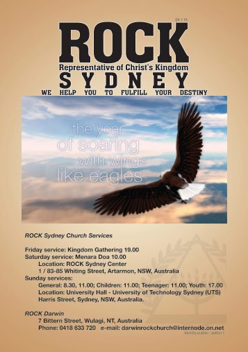 ROCK Sydney Monthly Bulletin January 2011