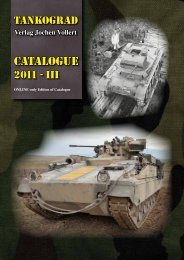 CATALOGUE - TANKOGRAD Publishing