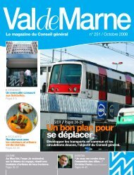 ValdeMarne n°251 / Octobre 2008 - Conseil général du Val-de-Marne