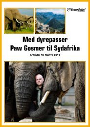 Download program for turen her (pdf) - Aalborg Zoo