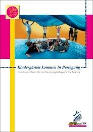 Kindergärten kommen in Bewegung, Sportjugend NRW - Sichere Kita