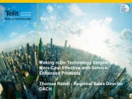 Making m2m Technology Simpler and More Cost Effective ... - Intel