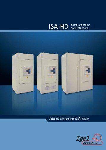 Digitale Mittelspannungs-Sanftanlasser ISA-HD ... - Igel Electric