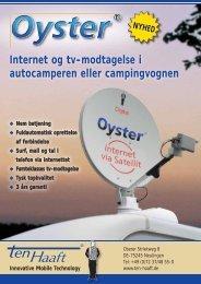 Internet og tv-modtagelse i autocamperen eller  ... - ten Haaft