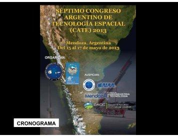 CRONOGRAMA - Universidad Nacional de Cuyo