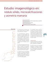Estudio imagenológico en: - Clínica Las Condes