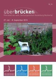 ueberbruecken10_13 - Seelsorgeeinheit Heidelberg-Neckartal