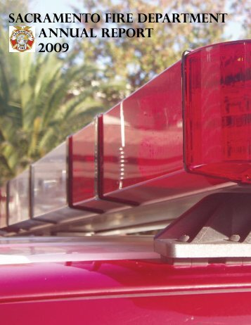 Sacramento fire department Annual report 2009