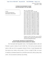 Cleared for Public Filing September 9, 2008 UNITED STATES ...