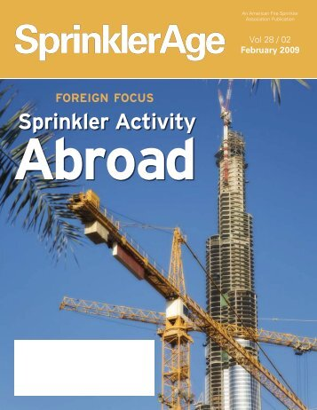 Sprinkler Activity - American Fire Sprinkler Association