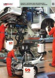 Recuperación de fluidos - Suministros Industriales INTEC