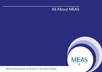 All About MEAS - Drinkaware.ie