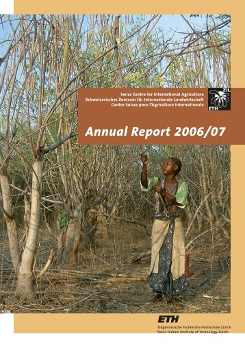 Annual Report 2006/07 - ETH - North-South Centre North-South ...