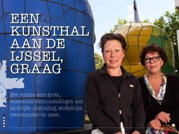 Een kunsthal aan de IJssel, Marian Breuker en Desiree van der ...