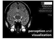 perception and visualization - Information Engineering Group