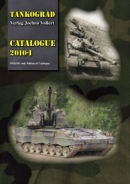 CATALOGUE - TANKOGRAD Publishing - Verlag Jochen Vollert