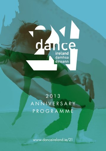 Still in Motion - 2013 Anniversary Programme - Dance Ireland