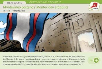 Montevideo porteño y Montevideo artiguista - Manosanta