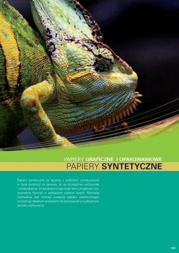 Papiery syntetyczne (PDF 876 kB) - Europapier