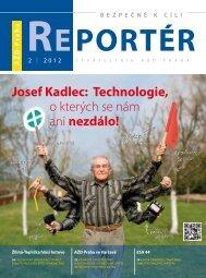 Reportér 2012/2 - AŽD Praha, sro