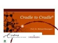 CRADLE TO CRADLE DESIGN - Urban Mining Kongress