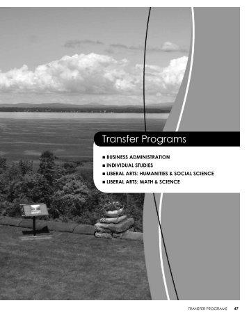 transfer programs - Clinton Community College