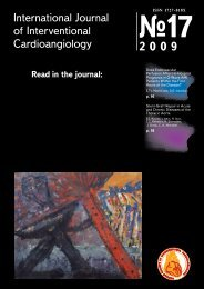 International Journal of Interventional Cardioangiology