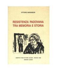 Vittorio Marangon IL MOVIMENTO CATTOLICO PADOVANO I