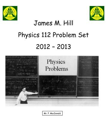 physics 112 lab manual pdf james m hill memorial high school rh yumpu com Physics Lab Ideas high school physics laboratory manual