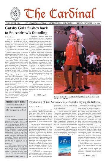 The Cardinal - Saint Andrew's School Archive