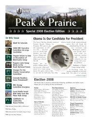 Oct/Nov/Dec 2008 (pdf) - Sierra Club Rocky Mountain Chapter