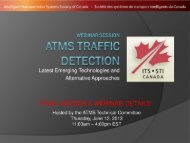 Click here to see the full agenda and webinar details. - (ITS) Canada