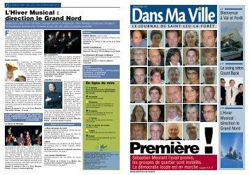 Magazine de Janvier 2009 - Saint-Leu-La-Forêt