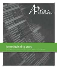 pdf 3,7 MB - Första AP-fonden