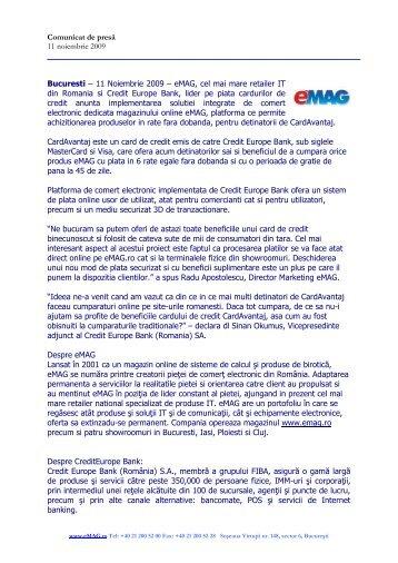 Lansarea eMAG ProfitShare - eMAG Blog