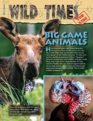 VOL. 7, issue 1 - New Hampshire Fish and Game Department
