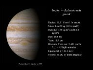 Jupiter – el planeta más grande - Raleigh Charter High School