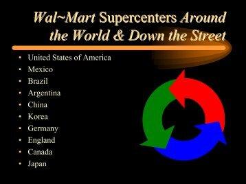Wal~Mart Supercenters Around the World ... - Perishable Pundit