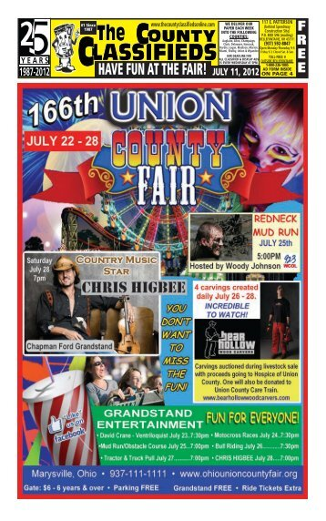 HAVE FUN AT THE FAIR! - The County Classifieds Online