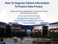 How To Organize Patient Information To Protect Data - Hellmuth Broda