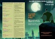 programme Jeune public 2012 - Festival de cinéma de Douarnenez