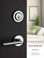 Baldwin Reserve Price Book