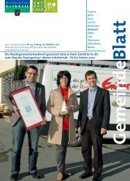 Bester Lehrbetrieb - Fit for Fut - Marktgemeinde Rankweil