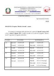 """LICEO SCIENTIFICO e LINGUISTICO STATALE """"FEDERICO II DI ..."""