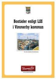 Bostäder enligt LSS i Vimmerby kommun (377 kB)