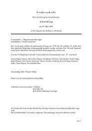Sitzung vom 09.03.2009 - Aholming