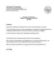 KlausurSS01.pdf - Lehrstuhl für Wirtschaftsinformatik