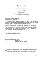 Sitzung vom 23.06.2008 - Aholming