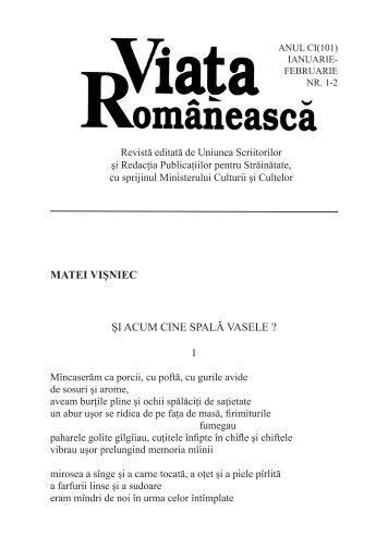 Viaţa Românească 1-2/07