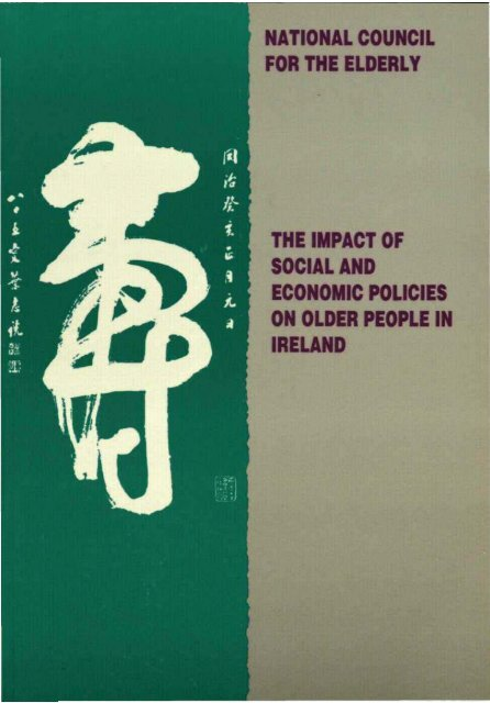 The Impact of Social and Economic Policies on Older People in Ireland